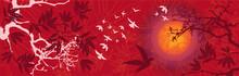 Paysage Asiatique Soleil Couch...