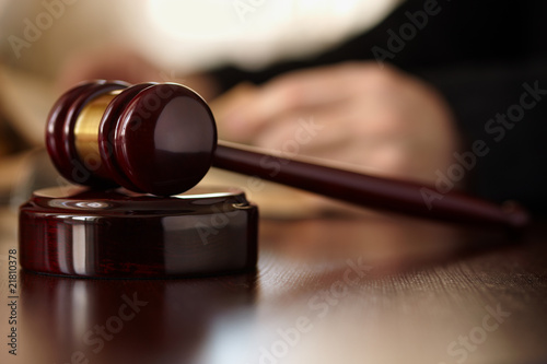 Judges Gavel #21810378