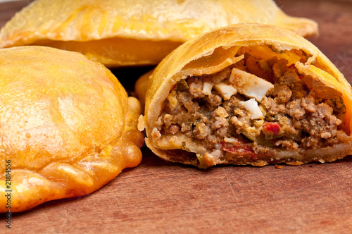 Recess Fitting Appetizer Open beef empanada