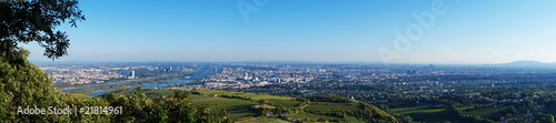 Photo sur Toile Vienne Vienna-panorama.