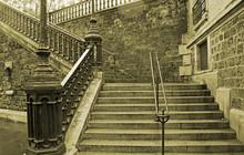 Treppe In Paris
