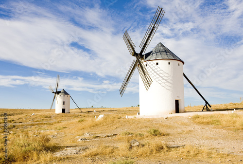 Tuinposter Molens windmills, Campo de Criptana, Castile-La Mancha, Spain