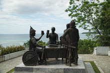 Blood Compact Monument, Bohol, Philippines. On 16 March 1565 (or