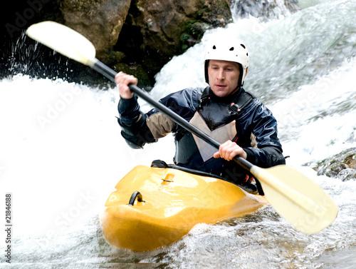 Fotografie, Obraz  kayaker