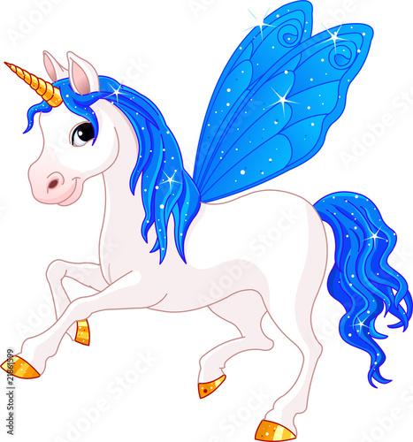 Poster Pony Fairy Tail Indigo Horse