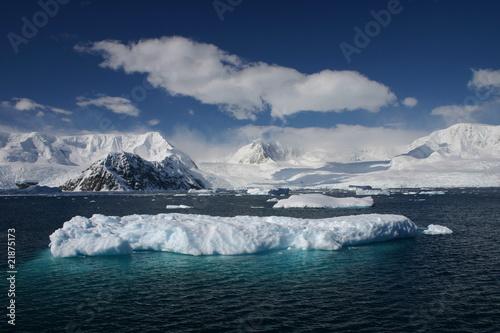 In de dag Antarctica Antarctica Iceberg