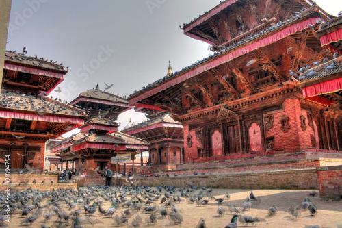 Canvas Prints Peking Kathmandu - Durbar Square