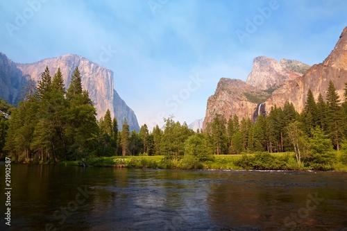 Poster Parc Naturel Yosemite Valley
