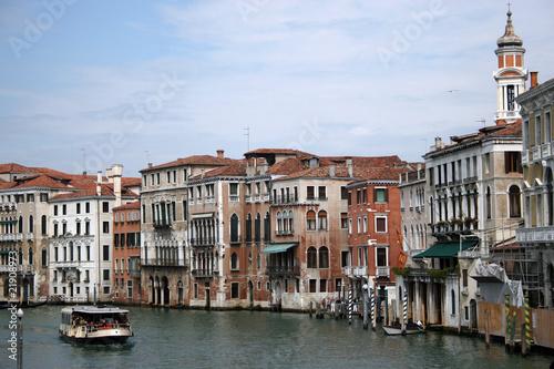 Stickers pour portes Venise Grand Canal from Rialto Bridge, Venice