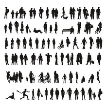 Big Collection Of Silhouettes ...