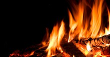Detail Of Fire.