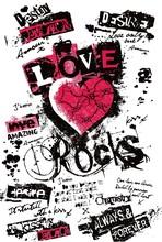 Fancy Heart In Graffiti Style