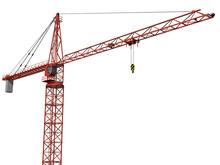 Isolated Crane