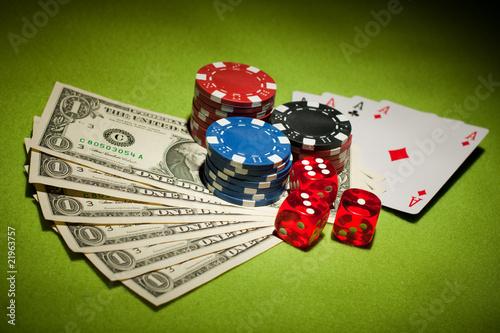 Casino games плакат