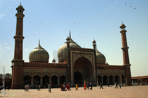 Canvas Prints Delhi Jama_Masjid_1
