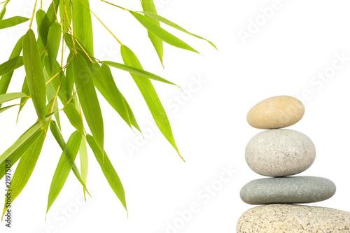 Recess Fitting Zen bambou et galets