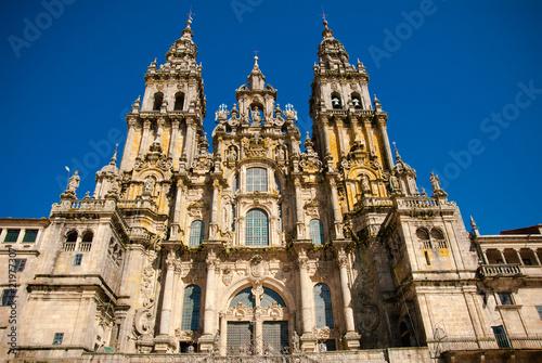 Fotografie, Obraz  cathedral of Santiago de Compostela