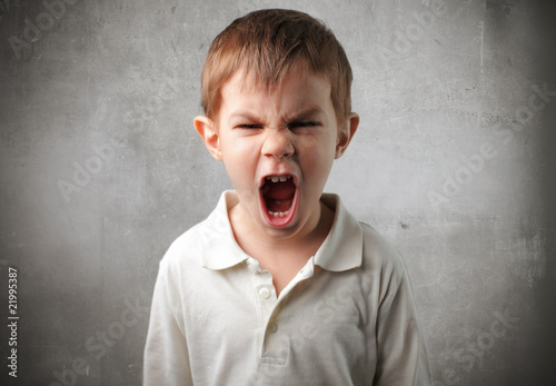 Valokuvatapetti Anger