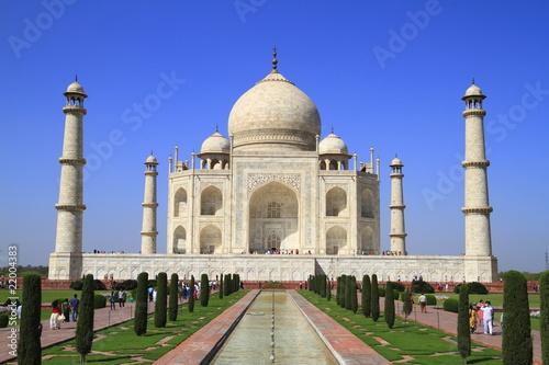 Fotografie, Obraz  Das Taj Mahal
