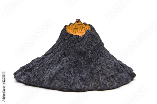 Poster Volcano Vulkanausbruch