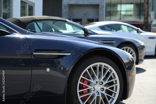 Photo  A set of sports cars