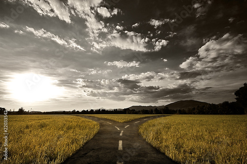 Fotografie, Obraz  Crossroad