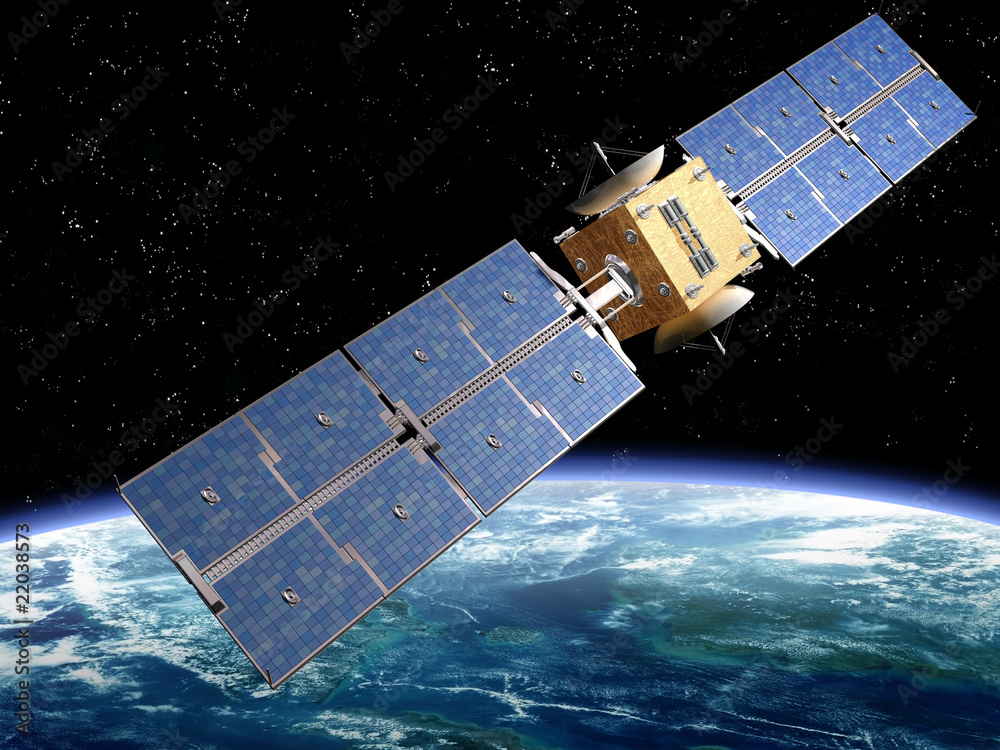 Photo  Communication Satellite