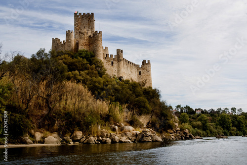 Almourol Castle Tablou Canvas