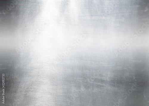 Poster Metal Brushed metal plate