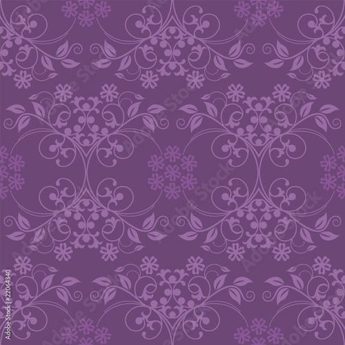 Photo  Beautiful seamless purple wallpaper