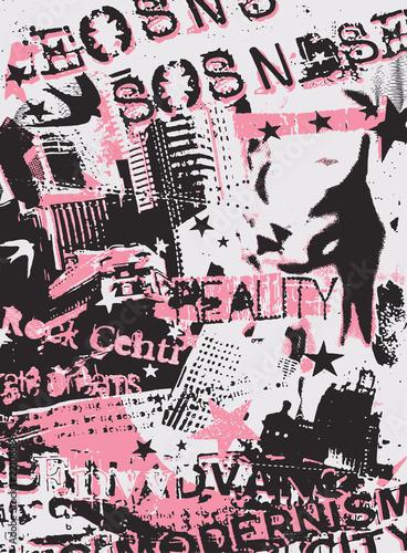 Foto op Aluminium Graffiti graffiti style urban artwork