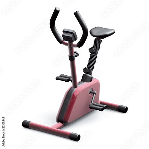 Fotografie, Obraz  cyclette rossa