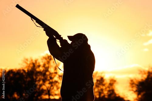 Staande foto Jacht Murtoli chasse au canard
