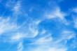 canvas print picture - Faint cirrus clouds