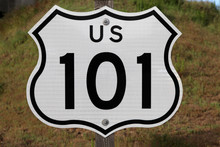US 101 Sign