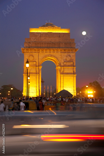 Canvas Prints Delhi India Gate, New Delhi