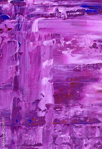 Fotografie, Obraz  gemalter lila Hintergrund