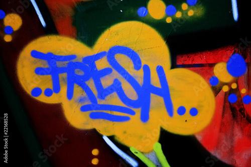 Grafitti Fresh Poster