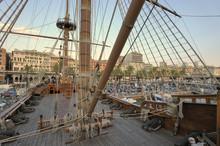 Sailing Vessel Moored