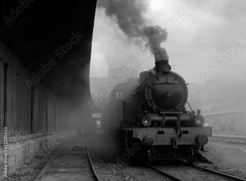 Old train - City Ruler - Portugal - Europe