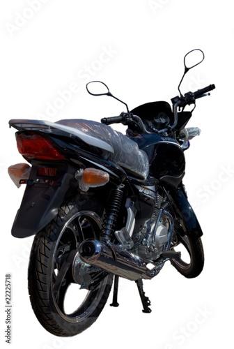 Fotobehang Fiets Motorbike