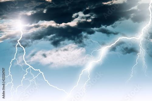 Fototapety, obrazy: lightning