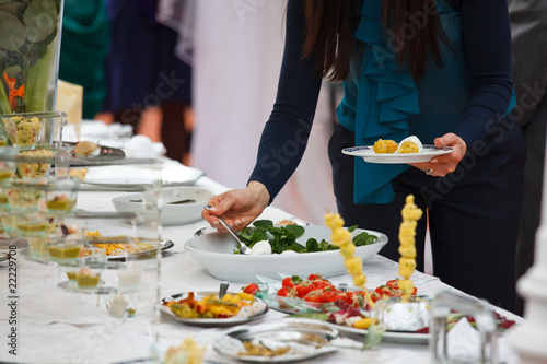 Photo Buffet con antipasti