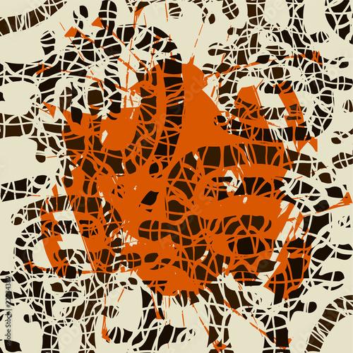Papiers peints Visage de femme Abstract background