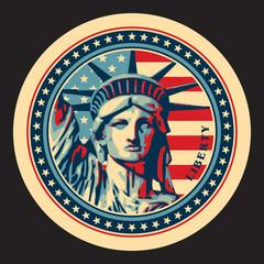 FototapetaStatue of Liberty. New York landmark.