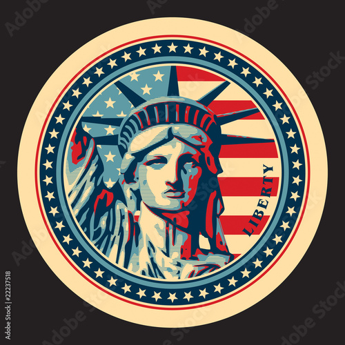 Statue of Liberty. New York landmark. - 22237518