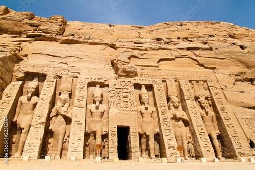 Fotografia, Obraz  Ägypten, Abu Simbel,Felstempel