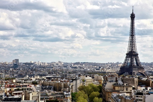 vue d'ensemble de Paris