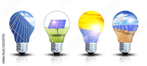 Ideensammlung - Solar Canvas Print