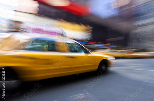 Fotomural Taxi Cab